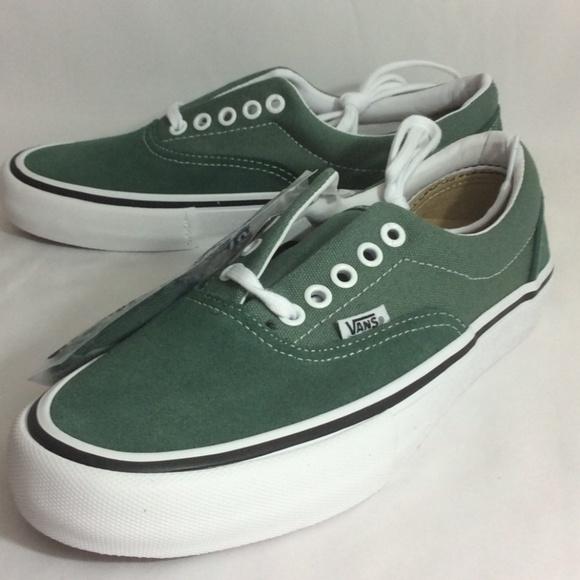 Vans Shoes | Nwt Era Pro Duck Green